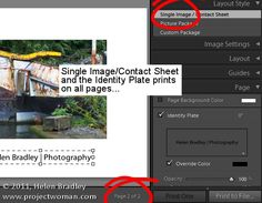 Five Gotchas in the Lightroom Print Module:  (1) Nonexistent Drag and Drop; (2) Understand Border Behavior; (3) Identity Plate Behavior; (4) Any Size JPG Output; & (5) Crop your images