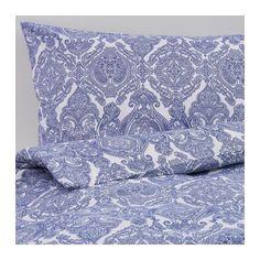 СКОРПИЛ Пододеяльник и 2 наволочки IKEA Пододеяльник на молнии – одеяло не будет выбиваться. Мягкий материал с блеском, на ощупь как шелк.