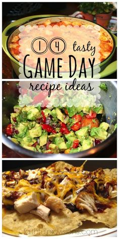 These are my go-to recipes for any Game Day.  Every one of these Superbowl Recipe Ideas are a crowd-pleaser | FaithfulProvisions.com