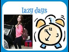 Quick Makeup, Hair, & Outfit for Lazy School Days!