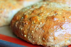 Hearty Whole Grain Basil Bread