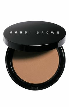 Bobbi Brown bronzer in medium.  love it for those that likes bronzer but without the shimmer. Bobbi Brown's Bronzing Powder is a beautiful matte bronzer. It's great for pale complexions because you need only a couple of brush strokes worth for your face. It's lasts for more than 8 hours and absolutely no shimmer!