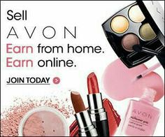 Sell Avon. Earn from home. Earn online. Join today!! I love being apart of Avon. sellavon.com and use reference code:hlenox