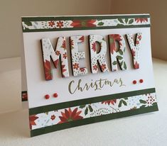 Click the link for more Handmade Christmas Card Ideas Christmas Cards 2018, Christmas Card Crafts, Homemade Christmas Cards, Noel Christmas, Christmas Paper, Xmas Cards, Homemade Cards, Handmade Christmas, Holiday Cards