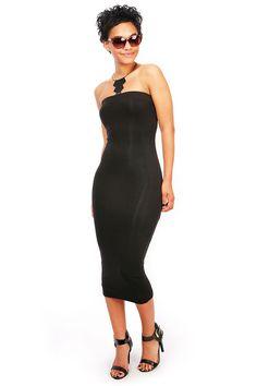 Slip On Midi Dress
