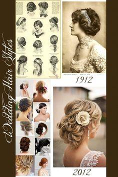 19 ideas wedding hairstyles updo downton abbey for 2019 Old Hairstyles, Latest Hairstyles, Vintage Hairstyles, Wedding Hairstyles, Wedding Hair And Makeup, Bridal Hair, Hair Makeup, Hair Wedding, Wedding Dresses