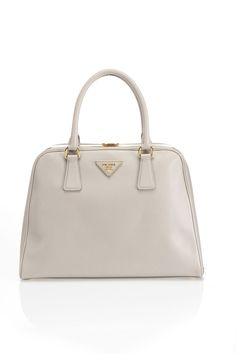 Prada Saffiano Lux Handbag In Pumice