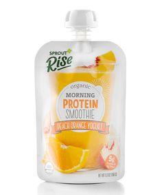 Loving this Peach Orange Yogurt Organic Smoothie - Set of 10 on #zulily! #zulilyfinds