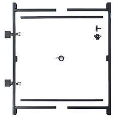 "Adjust-A-Gate Steel Frame Gate Building Kit (60""-96"" wide... https://www.amazon.com/dp/B000AMP94A/ref=cm_sw_r_pi_dp_x_wvn1zbGEAG27F"