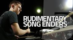 Rudimentary Song Enders - Drum Lesson