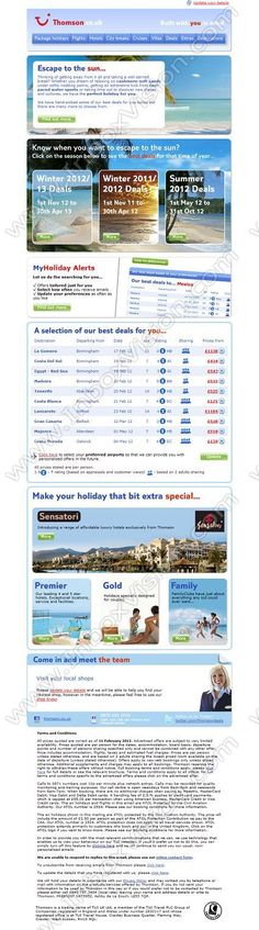 Company:    Thomson Holidays   Subject:    Amazing deals – holidays from only GBP139...              INBOXVISION is a global database and email gallery of 1.5 million B2C and B2B promotional emails and newsletter templates, providing email design ideas and email marketing intelligence www.inboxvision.com/blog  #EmailMarketing #DigitalMarketing #EmailDesign #EmailTemplate #InboxVision  #SocialMedia #EmailNewsletters