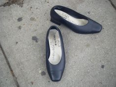 Random shoes on a street, Lower East Side, NYC