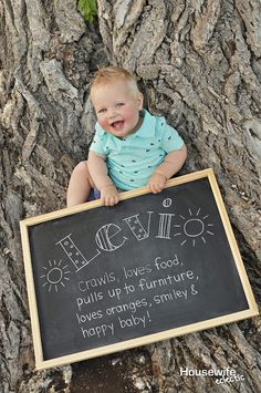 Tips for a perfect DIY 1 Year Old Photo Shoot - Housewife Eclectic