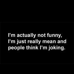 It's a little true.