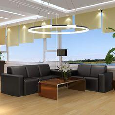 40/60/80CM Modern LED Acrylic Round Pendant Chandelier Ceiling Lamp Fixture #UnbrandedGeneric #ModernContemporary