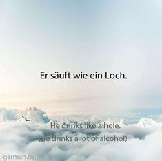 German Grammar, German Words, Learn German, Learn English, Words In Other Languages, German Quotes, German Language Learning, Cute Words, Home Schooling