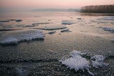 Mazury zimą jezioro Gołdapiwo #mazury #polska #poland #masuria