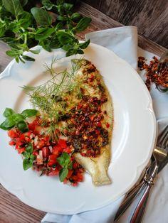 Pyry na Gaz: Ryba na parze z płatkami papryki i nutą cytrusową