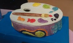 Another pinner said: love this clay box my eighth grader made ~Smith Middle School, Miss Murphy