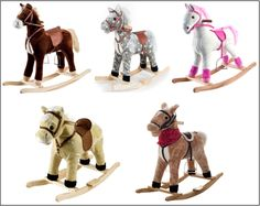 Here I have selected the top 5 Happy Trails Plush rocking horses for you and for your little one so that it will become easier for you to select the perfect and best riding toys toddlers rocker and I believe that these rockers must encourage child's love and affection for the animals in their life. Check http://bestkidsrideontoys.com for more detail.