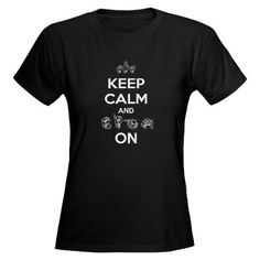 fa4bd1b9e5 Want. Keep calm and sign on Geek Tshirts