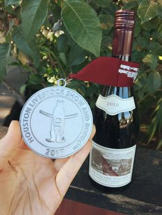 And the medal goes to.our 2012 Le Cigare Volant! Here shown modeling its newly minted Silver Medal from the Houston Livestock Show International Wine Competition. 🍷🏅 Available online now! Houston Livestock Show, Food & Wine Magazine, Showing Livestock, Wine Reviews, Wines, Modeling, Competition, Silver, Modeling Photography