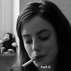 fuck life too. Women Smoking, Girl Smoking, Quote Aesthetic, Aesthetic Pictures, Effy Stonem Style, Elizabeth Stonem, Smoking Quotes, Alaska Young, Cigarette Aesthetic