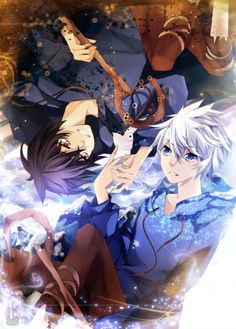 Shadow Jack and Jack Frost by *Squ-chan on deviantART