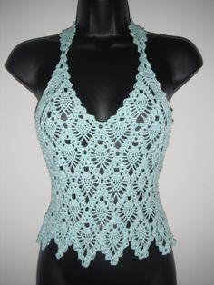 cutecrocs.com crochet summer tops (15) #crocheting
