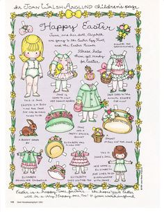 Happy Easter by Joan Walsh Anglund