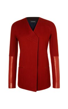 Wool Coating Jacket by Narciso Rodriguez for Preorder on Moda Operandi