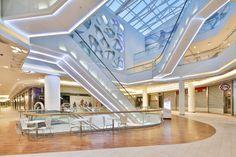 Rzeszów City Center, Shopping Mall, Interior, Rzeszów-Poland
