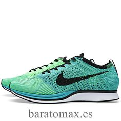 new concept ce458 8691e Nike Flyknit Racer, Sport Man, Lust, Turquoise, Running Shoes, Sneakers,