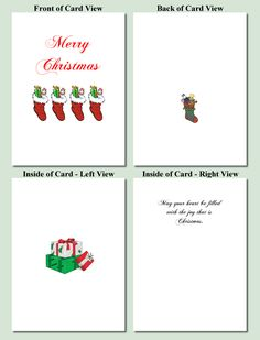 printable card templates free