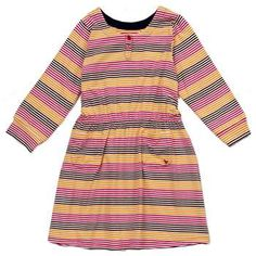 PINK CHICKEN Striped Maddy Dress --  Available at Auntie Barbara's Kids!