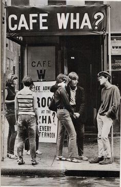 Cafe Wha? in the 1960s