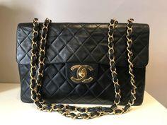 8a6b27453b5 Bag and Clutch Lady · Plateforme de ventes aux enchères en ligne Catawiki    Chanel - Jumbo Sac en bandoulière