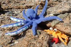 FREE CROCHET PATTERN octopus and crab