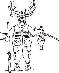 1882 crowell launches the first national magazine advertising deer hunting coloring pages fandeluxe Image collections