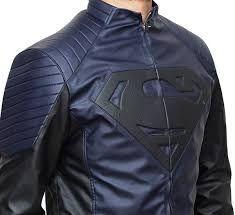 #SupermanLeatherJacket #SupermanCostume #SupermanMotorcycleJacket #SupermanHalloweenCostume #SuperheroCostumeForAdults #SuperheroCostumeForKids #HalloweenSuperheroCostumesForAdults #CheapHalloweenCostumeIdeasForGuys #HalloweenCostumeForSale #HalloweenLeatherJacket Superman Halloween Costume, Halloween Costumes For Sale, Superman Cosplay, Superman Costumes, Motorcycle Jacket, Bomber Jacket, Jacket Men, Jacket Style, Superman Henry Cavill