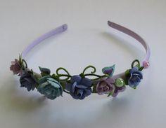 Floral Headbands by FrancescaRoseGifts on Etsy