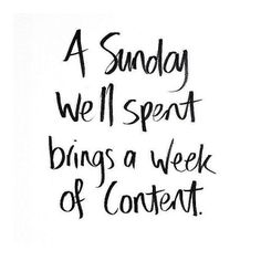Don't let Monday ruin your #Sunday.