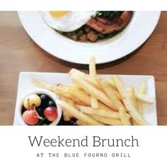 Come in for breakfast and bruch on the weekends from 8am to 2pm #bluefournogrill #sandiego #restaurant #Mediterranean #cuisine #food