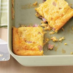 Ham and Egg Breakfast Casseroles Recipe from Taste of Home -- Lisa Pogue of Keithville, Louisiana