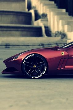Ferrari 612 GTO iPhone wallpaper