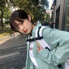Ulzzang Short Hair, Ulzzang Korean Girl, Pretty Korean Girls, Cute Korean Girl, Asian Model Girl, Asian Girl, Crazy Boyfriend, Petty Girl, Selfies