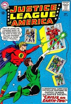 Justice League of America #22 (1960 series) - cover by Murphy Anderson