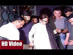 Sohail Khan escorts mother Salma Khan at sister Arpita Khan's husband Aayush Sharma's Birthday Party 2016.  #sohailkhan #arpitakhan #aayushsharma #salmakhan #bollywood #bollywoodnews #bollywoodgossips #news #gossips #bollywoodnewsvilla