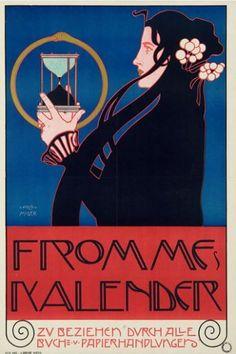 goodolarthistory:  Artist: Kolomon Moser