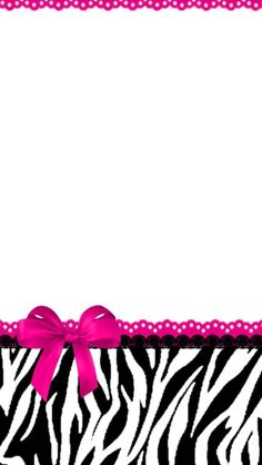 Animal print pink Lace Wallpaper, Zebra Wallpaper, Pretty Phone Wallpaper, Pretty Wallpapers, Cellphone Wallpaper, Iphone Wallpapers, Kawaii Background, Glitter Background, Baby Scrapbook
